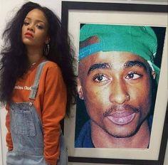 #makaveli #rihanna Rap, Tupac Makaveli, Cultura General, Tupac Shakur, Thug Life, Oppression, Reggae, Rihanna, Old School