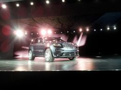 The world's first photo of the new 2014 Grand Cherokee SRT.
