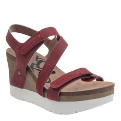 6644bbe31164 Get ready for game day with the stylish Wavey wedge sandals.  gameday   outfit. OTBT shoes