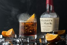 Let me introduce you Manhattan cocktail with a hint of smoke, it should be not only mixed, but also smoked! A unique version of a classical English recipe!
