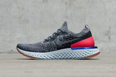 Get Ready For Nike Epic React Flynit Adidas Release, Nike Flyknit, Men S Shoes, Outlet, Nike Shoes, Shoes Sneakers, Running Shoes, Nike Running, Hamilton