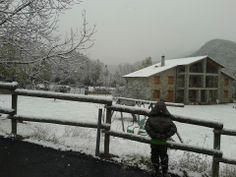 En otoño también nieva en Puyarruego.