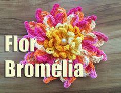 """Flor Bromélia """"Neila Dalla Costa"""""""