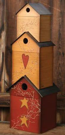Birdhouses boxes...