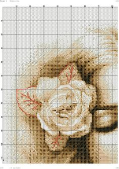 she 4 Sepia Color, Fantasy Women, Counted Cross Stitch Patterns, Cross Stitching, Quilts, Embroidery, Sewing, Diy, Bedroom Frames