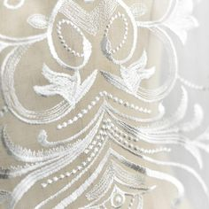 Lace Wedding Dress applique/Lace Applique/Bridal Applique/ALA-98 | Zeng's Lace Wedding Dress Sash, Applique Wedding Dress, Bridal Dresses, Embroidered Lace Fabric, Embroidery Applique, Flower Embroidery, Bridal Lace, Wedding Lace, Wedding Dress Accessories