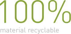 Dit plaatje past bij ons product omdat onze jute tas ook 100% recyclebaar is.