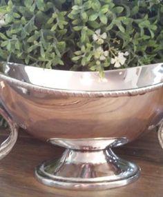 Sauciere Schale versilbert Serving Bowls, Tableware, Dinnerware, Tablewares, Dishes, Place Settings, Mixing Bowls, Bowls