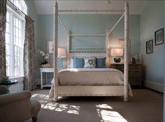 bed idea, curtain idea