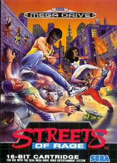 6th made up photo of the original Streets Of Rage with Dennis Quaid as Axel Stone and Heather Langenkamp as Blaze Fielding.