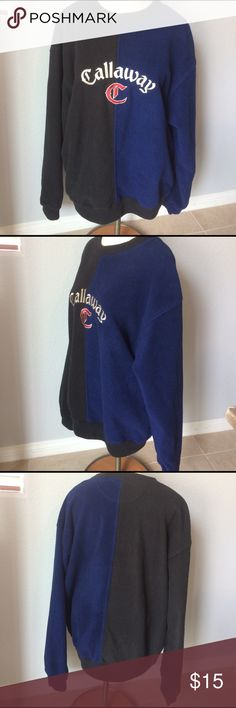 Callaway fleece pullover Good used condition men's Sz XL. CALLAWAY golf apparel by Nordstrom. No damage to fleece pullover. , comes from a smoke free home. Callaway Shirts Sweatshirts & Hoodies