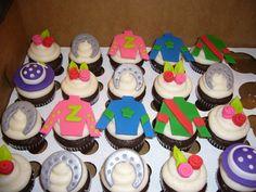 Derby cupcakes