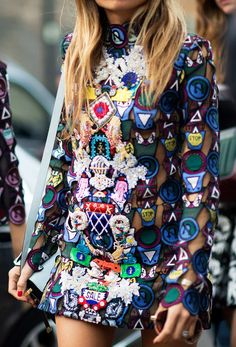 Erica Pelosi On Wednesdays we wear embroidered mini-dresses. Photo: YoungJun Koo/I'M KOO