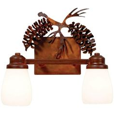 "Parkshire Collection 3D Cone 13"" Wide Bathroom Light Fixture -"