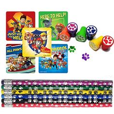 Puppy Paw Birthday Party Favor Set for 12 12 Paw Print Stampers 12 Paw Print Pencils 33 Paw Patrol Stickers by Unknown ** Details can be found by clicking on the image. (This is an affiliate link) Paw Patrol Party Favors, Paw Patrol Party Supplies, Paw Patrol Cake, Paw Patrol Birthday, Puppy Birthday, 4th Birthday Parties, Birthday Party Favors, Birthday Ideas, 3rd Birthday