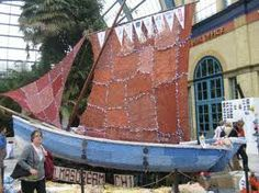 knitted covered boats - Google Search