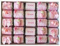 Chocolate Nuggets from Haute and Cool! Perfect for baby showers.