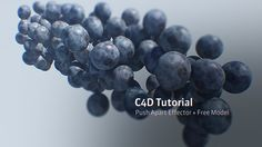 C4D R18 Tutorial: Push Apart Effector + Free Model on Vimeo