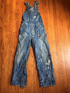 Laura Grace, Denim Overalls, Utility Jacket, 1940s, Work Wear, Sweater Cardigan, Vintage Denim, How To Wear, Bohemian Style