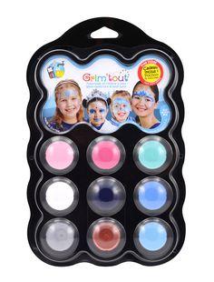 Palette de maquillage 9 couleurs thème Reine des Neiges