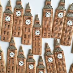 London Big Ben Cookie // Baked Ideas