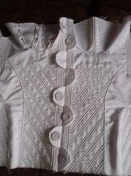 An 1830s corset - even more cording! - FarAboveRubies