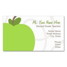 hip dots teacher business card teacher business cards teacher and