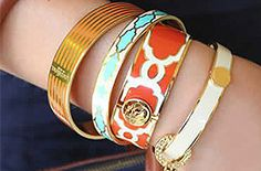 Spartina Bangles - Great by themselves of to go with your handbag