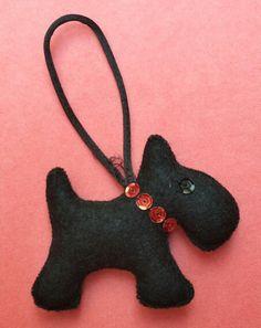 Black fox terrier