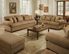 Bixby Peat Livingroom Set by Simmons