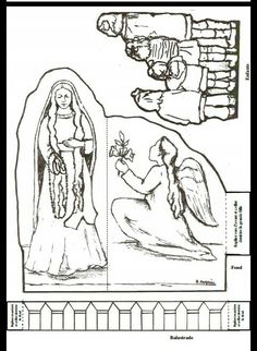 La Virgen y los niños Coloring Books, Coloring Pages, 12 Days Of Xmas, Spring Activities, Bible Crafts, Our Lady, Party Printables, Sunday School, Teaching Kids