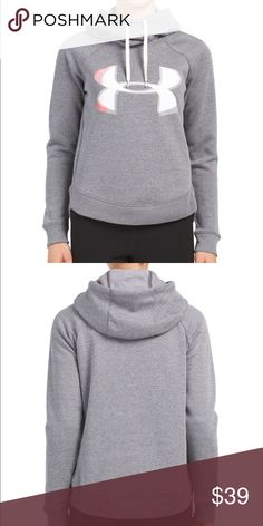 bcf011f56569c New Under Armour Women exploded logo hoodie sz  S New with tag Size  S  Under Armour Tops Sweatshirts   Hoodies