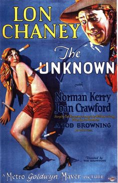 """""""The Unknown"""" (Tod Browning, 1927)."""