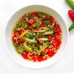 Nam Pla Prik/Prik Nam Pla (Thai condiment- Fish Sauce with Chilies)
