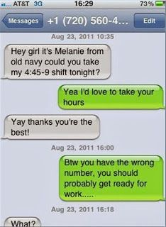 Funny Texts  The Web Babbler Funny Wrong Number Texts Funny Texts