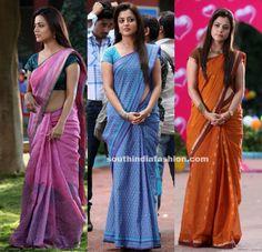 Nisha Agarwal in beautiful cotton sarees