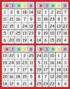 free printable number bingo card generator | Pinterest | Number ...