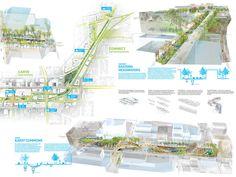 Competition board by SCAPE / Landscape Architecture