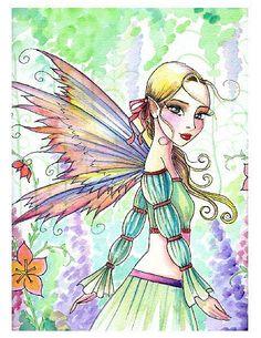 Molly Harrison Elena - fairy art