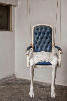 Francesco Albano's Melting And Grotesque Body Sculptures