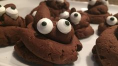 These easy 3-D poop emoji cookies baked from scratch are decorated with sugar eyes and are sure to delight emoji-obsessed kids and adults.