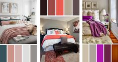 Bedroom color scheme ideas'll show you how you can get a professional looking interior and create a cozy sanctuary. Find the best designs for 2018!