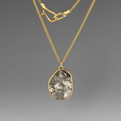 Black Lacy Diamond Necklace by Gabriella Kiss @QUADRUM