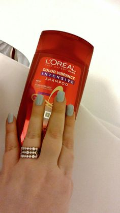 #gotitfree from @Influenster #Lorealhair #colorvibrancyintensive #ad I'm getting ready to review!!