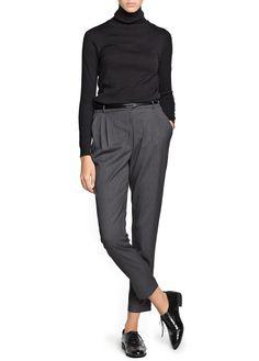 Pantalon de costume à pinces