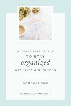 My favorite tools to