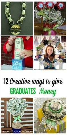 Graduation Gift İdeas – Second Chance to Dream: 12 Creative ways to give GRADUATES money – redpapoa Graduation Gifts For Boys, Graduation Party Decor, Graduation Ideas, Grad Parties, Graduation Quotes, Grad Gifts, Graduation Announcements, Gifts For Teens, Gifts For Friends