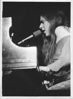 """"""" Laura Nyro in Concert at the Seattle Opera House April """" Laura Nyro, April 10, Music Life, Jazz Blues, Music Icon, Opera House, Piano, Love Her, Seattle"""