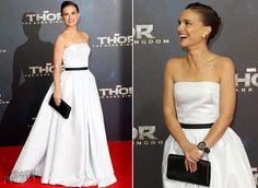 Natalie Portman in Christian Dior Couture   'Thor: The Dark World' Berlin Premiere