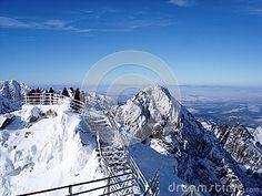 On the top of Lomnicky Stit